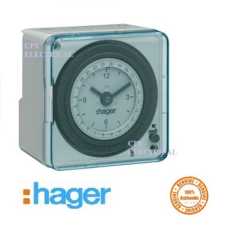 Hager EH711 24hrs og Time Timer switch 100% Authentic product on