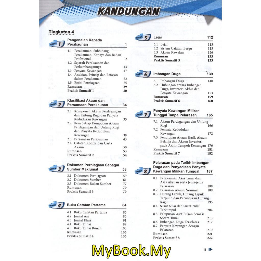 Myb Buku Rujukan Nota Focus Spm Tingkatan 4 5 Prinsip Perakaunan Pelangi Shopee Malaysia