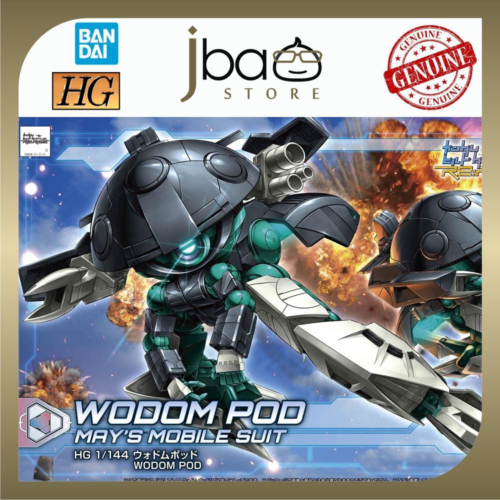 Bandai 1/144 28 Wodom Pod HGBD:R Re:Rise HG Build Divers Gundam Model Kits