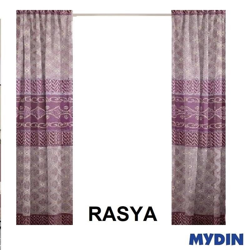 "Rasya Curtain 3 Panel Window WX20033PWA (78'' x 90"") #Raya"