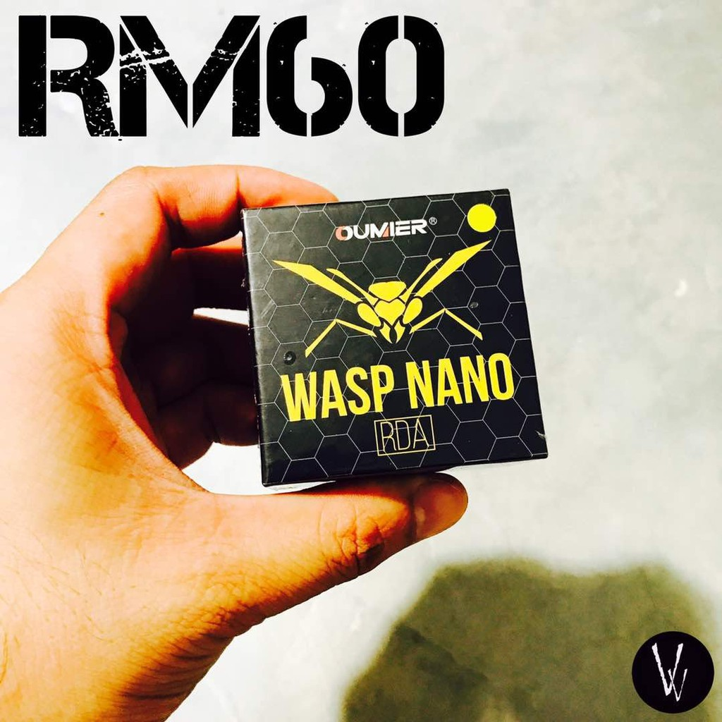 Oumier Wasp Nano Rda Transparent Version Shopee Malaysia Authentic 22mm By