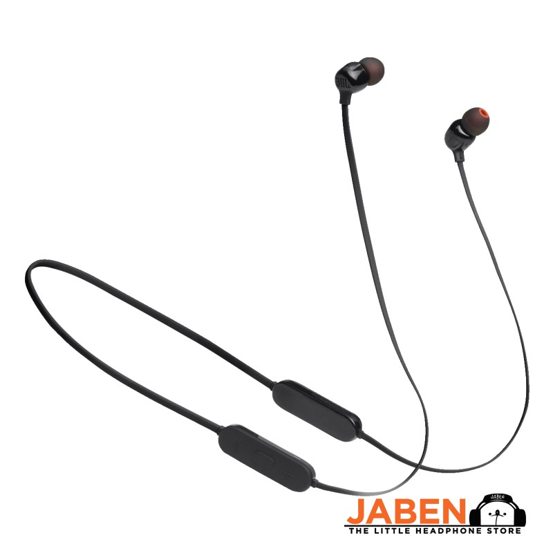 JBL TUNE 125BT Pure Bass Multipoint Neckband Type-C 16 Hours Battery Life Bluetooth In-Ear Earphones [Jaben]