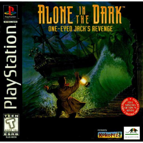 Ps1 Game Alone In The Dark Series Shopee Malaysia