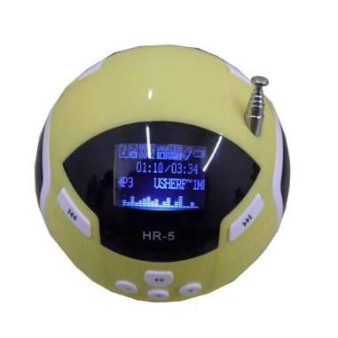 Multi-function Mobile Speaker Digital FM Radio HR-5