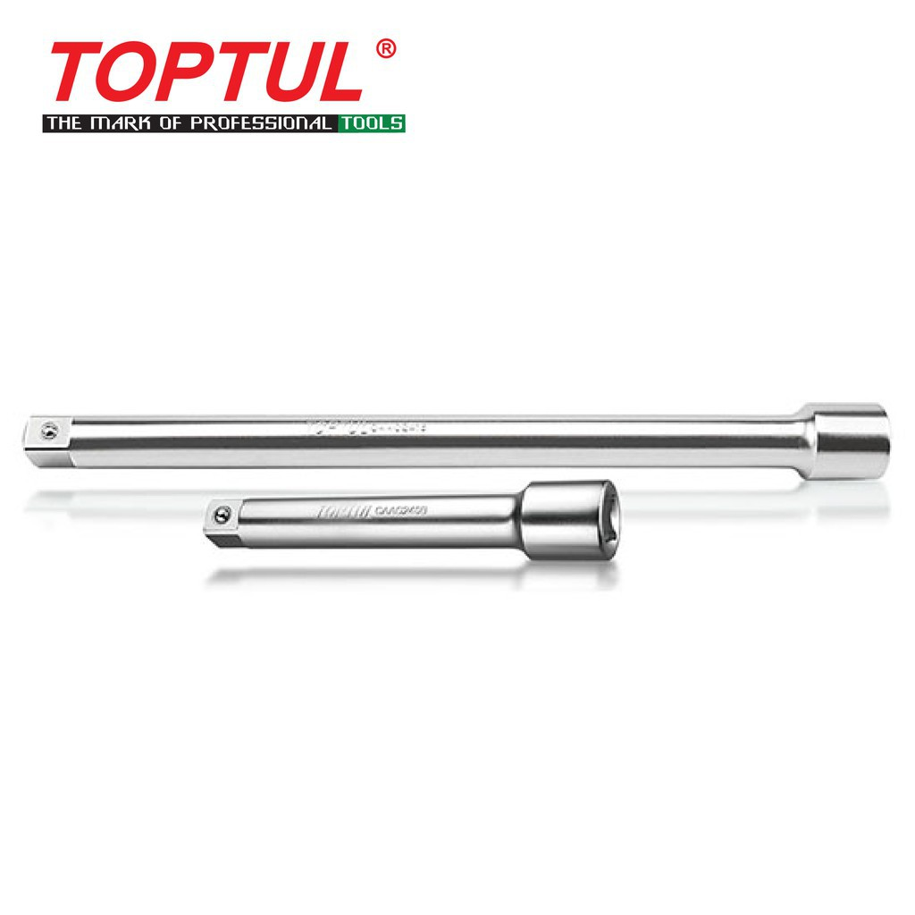 """Toptul 1/4"""" Dr. 1/2 Dr. Extension Bar (Model: CAAA)"""