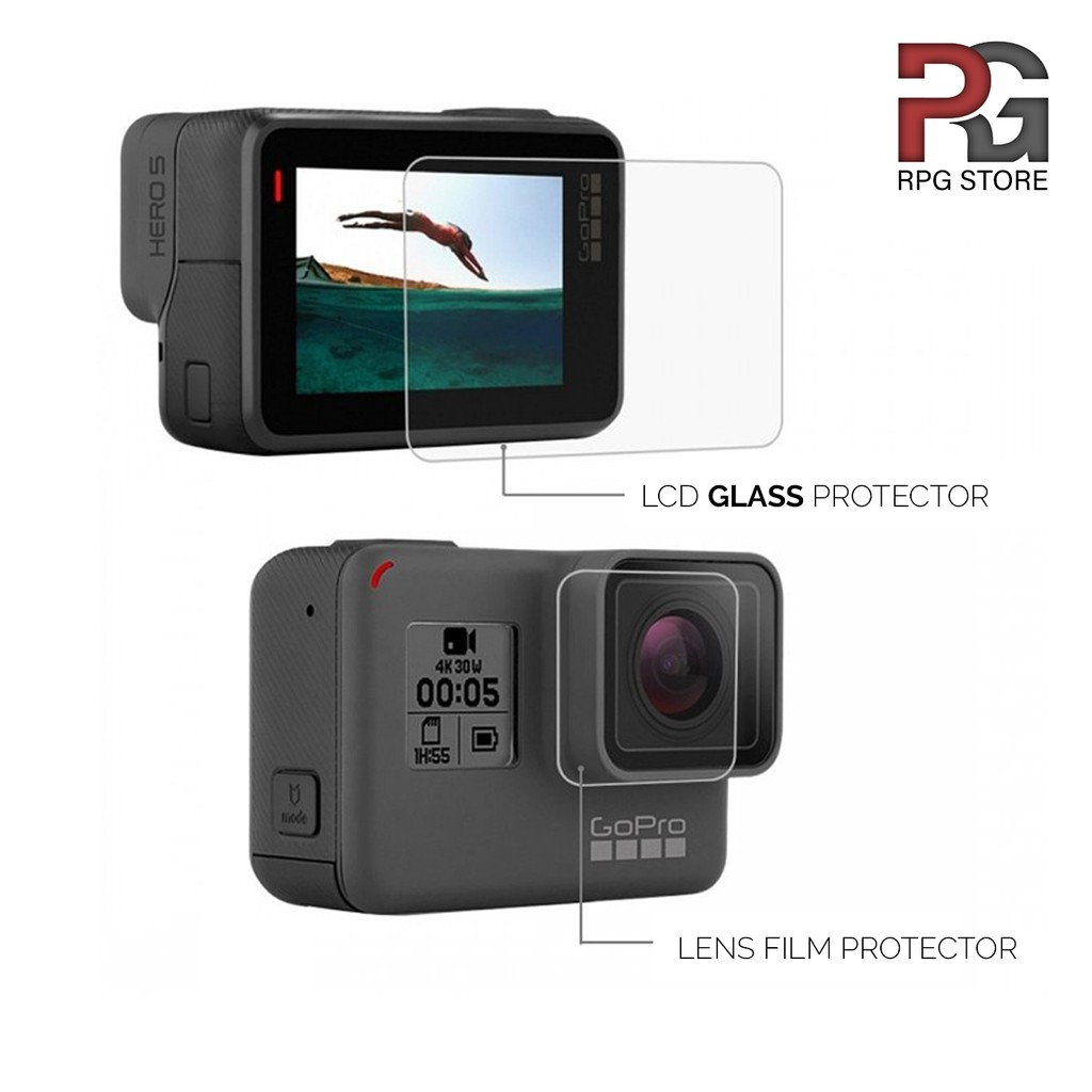 Tempered Glass/Screen Protector for GoPro HERO5/6/7/HERO2018