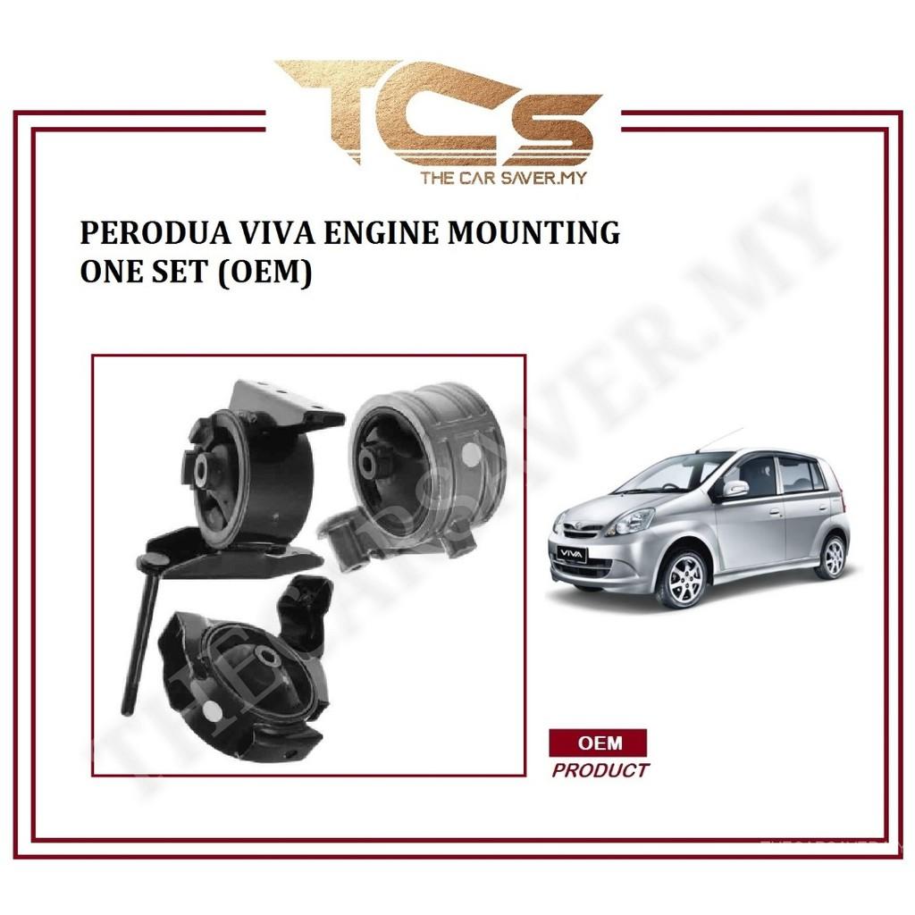Perodua Viva Engine Mounting Kit Set (OEM Product)