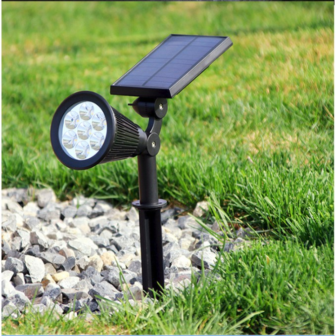 7 Led Solar Spotlight Garden Outdoor, Outdoor Spot Lights Garden