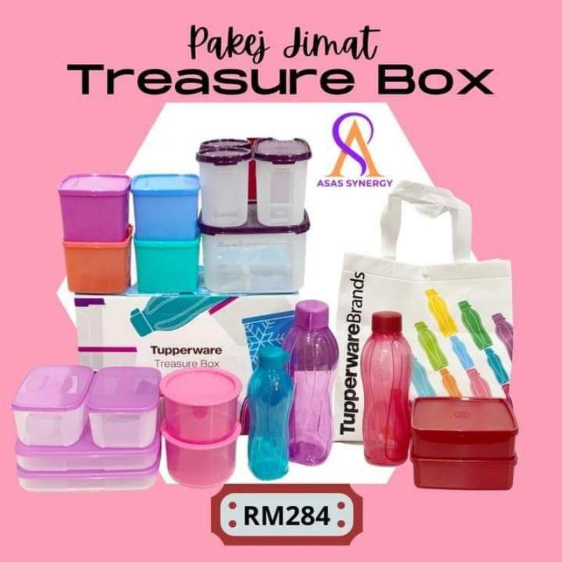 Treasure Box Tupperware 2021