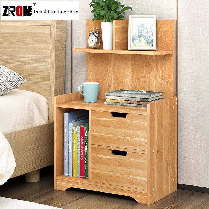 Modern Bedside Table 100 Solid Wood