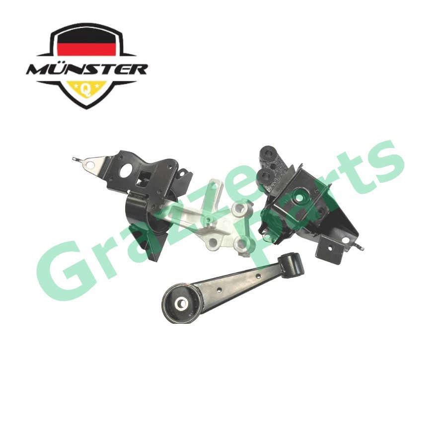 Münster PER7470 Engine Mounting Set for Perodua Axia Auto Transmission
