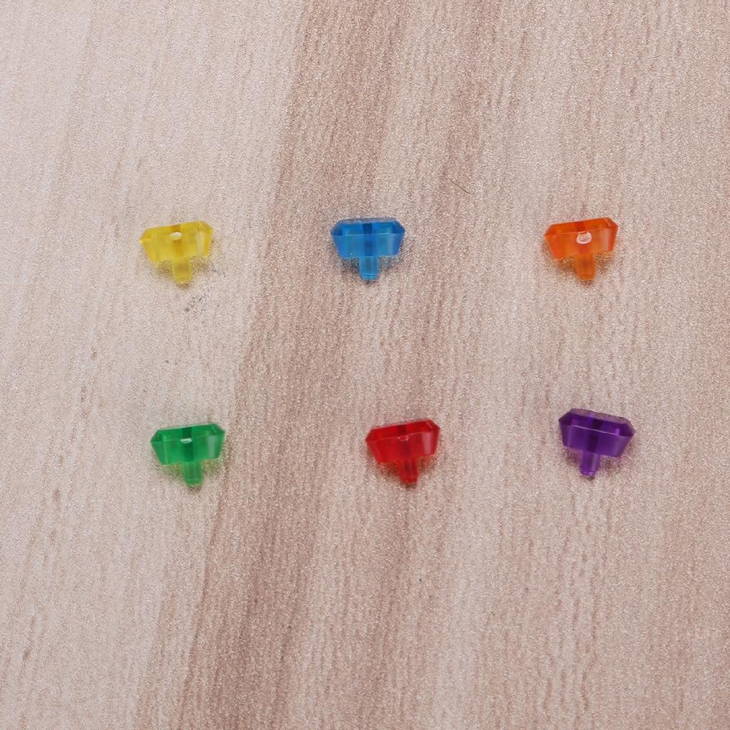 6Pcs Gemstones Für Lego Marvel Super Heroes Avengers Set 76101 76102 76103