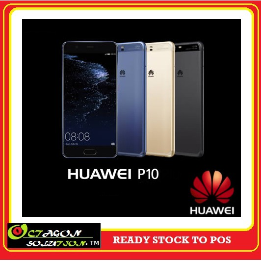 HuaWei P10 ( 4GB Ram+64GB Rom+20MP Cam )=Warranty By Official HUAWEI CENTRE