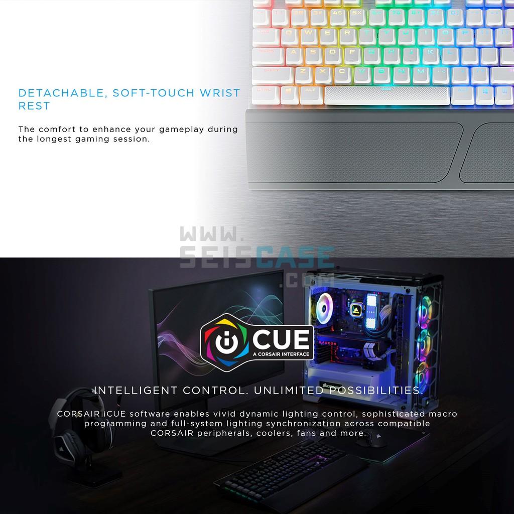 CORSAIR K70 RGB MK 2 SE White Mechanical Gaming Keyboard