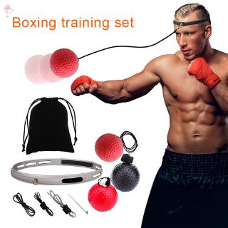 Boxing Fight Ball With Head Band For Reflex Speed Training Punching Exercise DY7