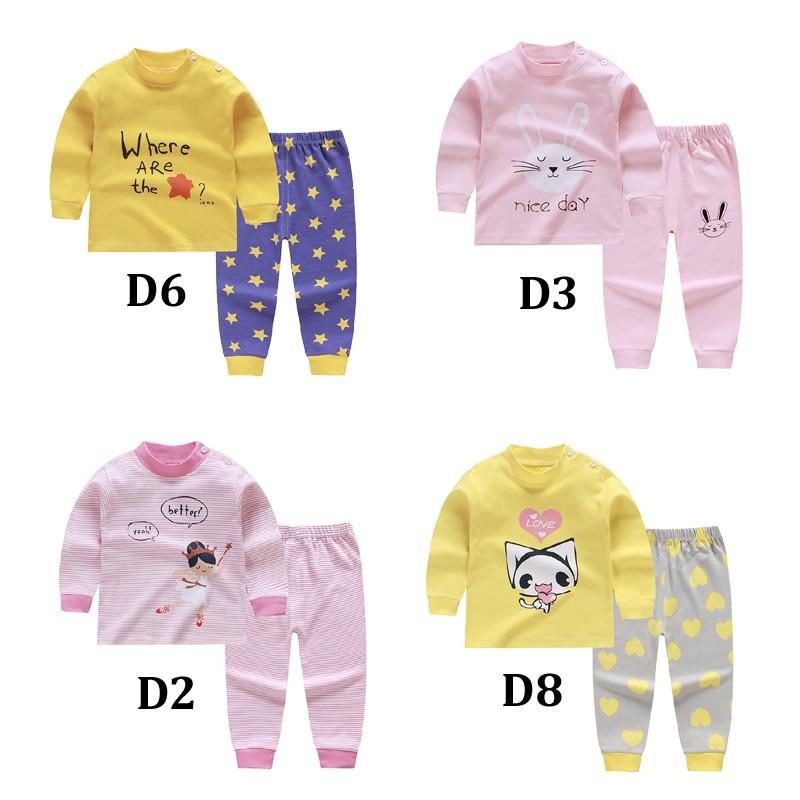 Baby Boys Toddler Pajamas Tops Pants Sleepwear Set for 0-7 Years