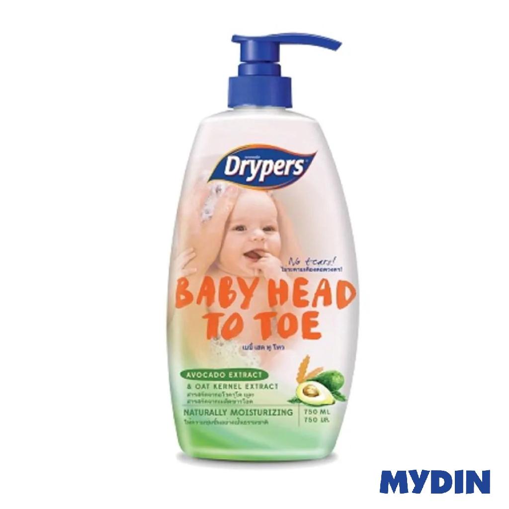 Drypers Baby Head To Toe - Avocado (750ml)