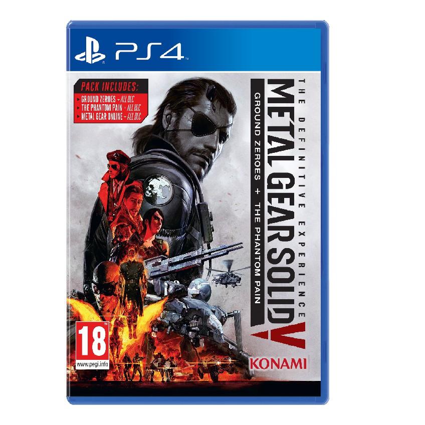 Ps4 Solid R2 The Metal Gear V Definitive Experience USzVMqGLp