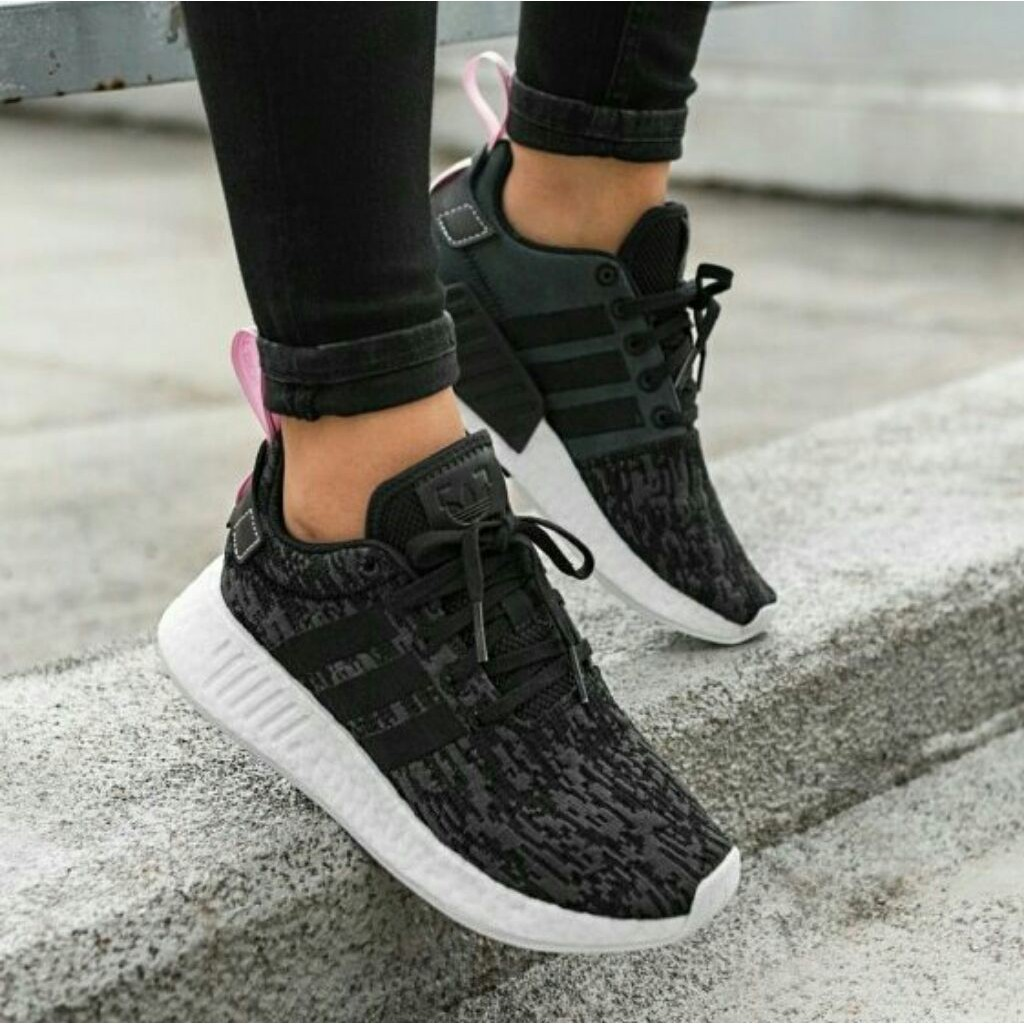 Available Adidas Nmd R2 W Core Black Wonder Pink