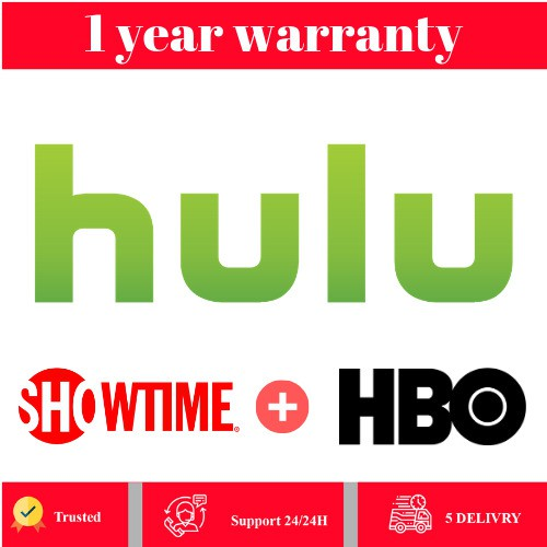 [Private] HULU PREMIUM HBO+SHOWTIME ADD-ON 1 Years WARRANTY