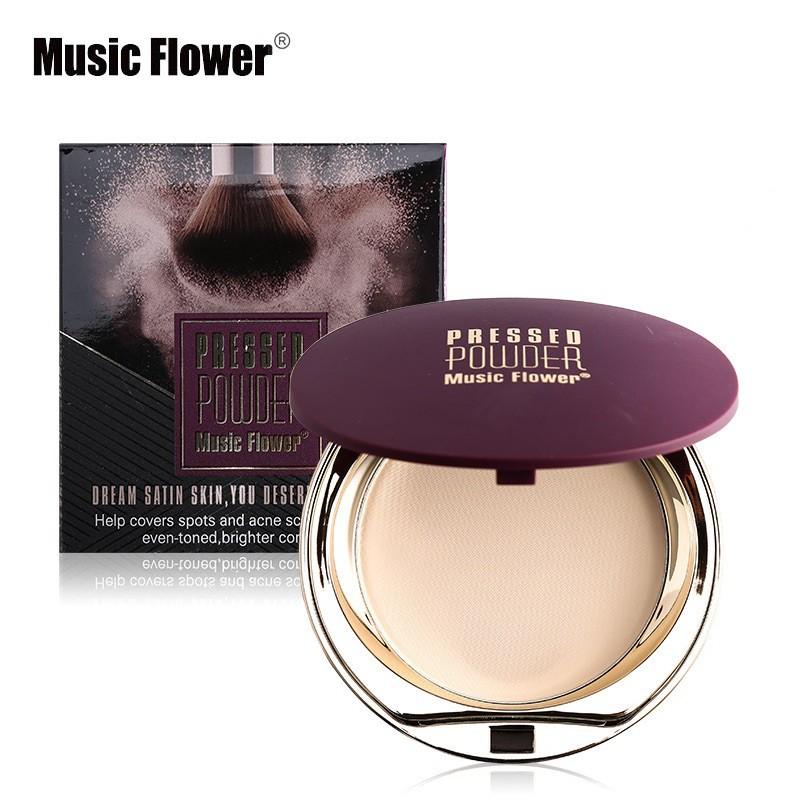 4672cbc7b Music Flower Natural Nude Makeup face powder long-lasting powder | Shopee  Malaysia