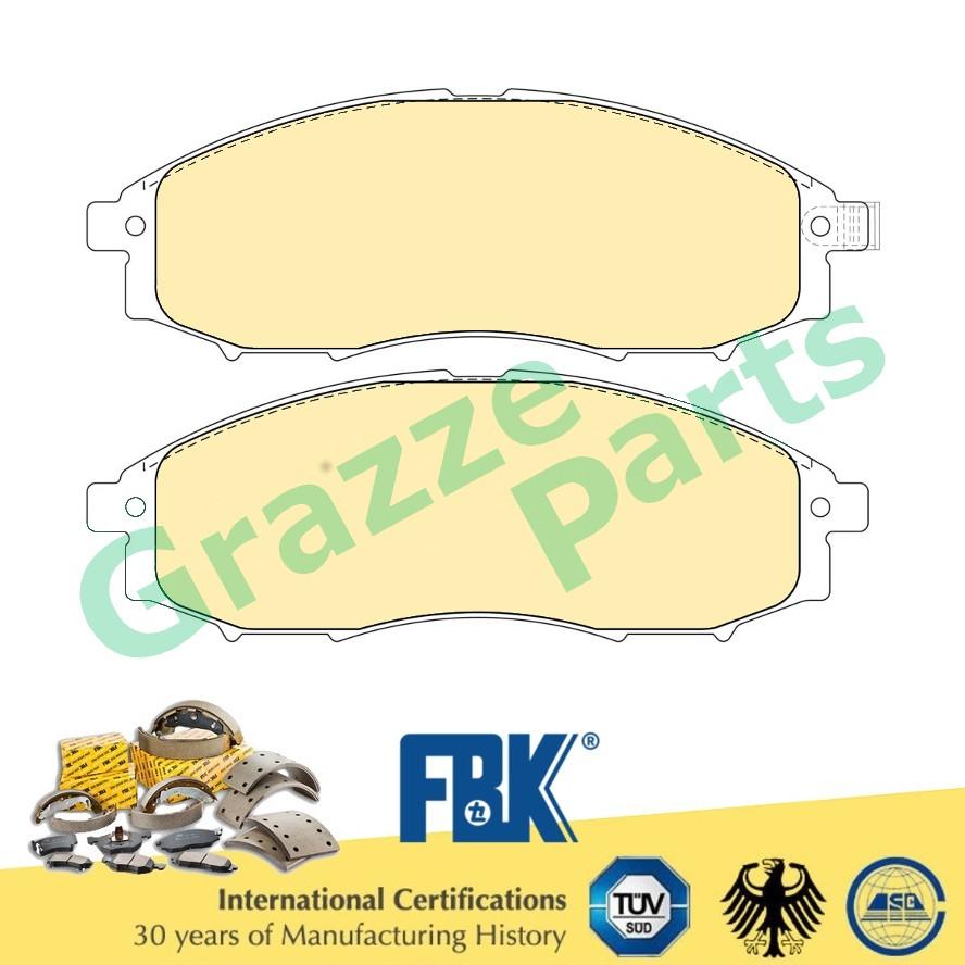FBK Disc Brake Pad Front for FD1829MS - Nissan Frontier D22