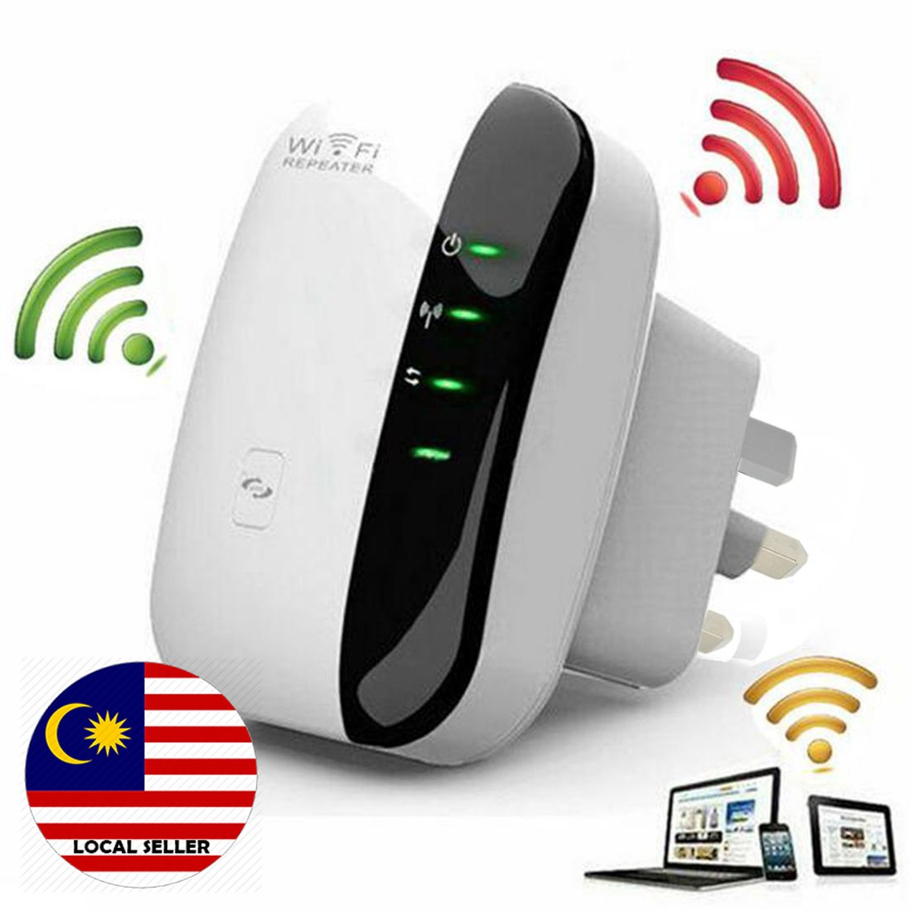 300Mbps Wifi Repeater Wireless Range Booster Extender 802 11N network