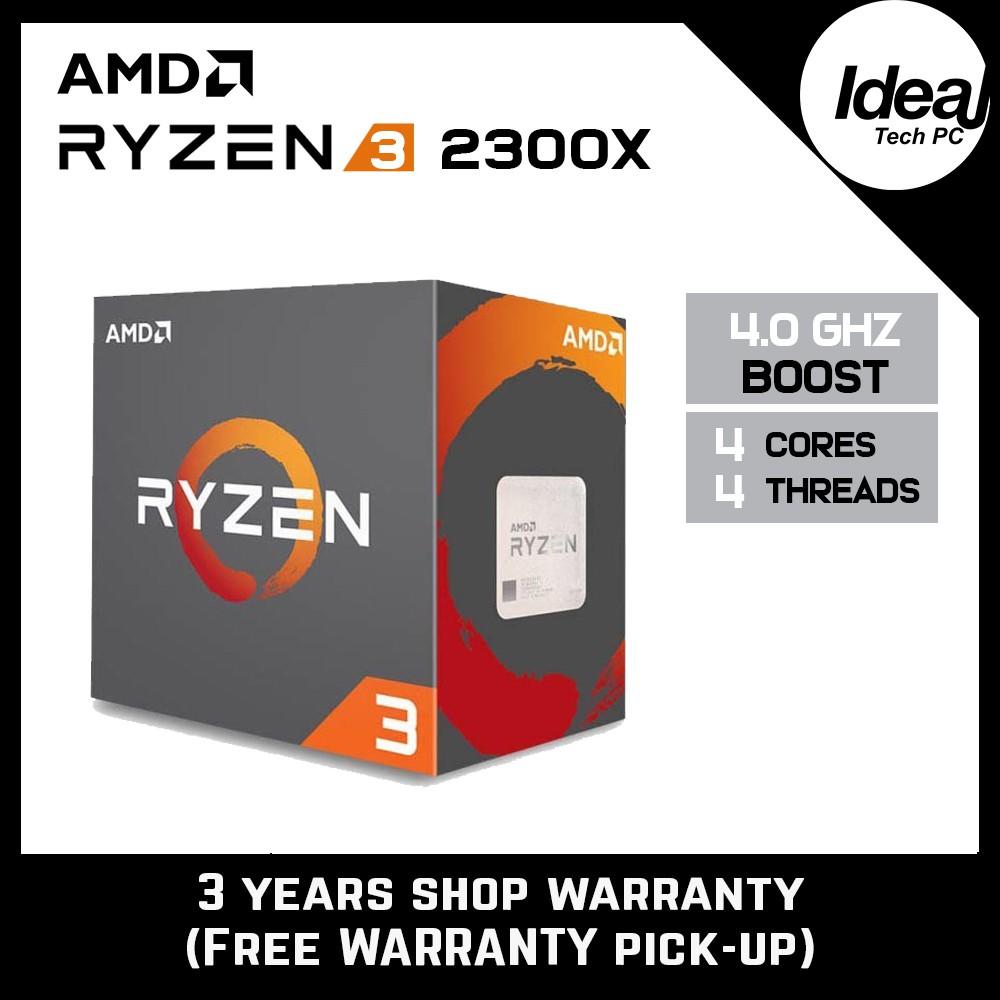 AMD Ryzen 3 2300X 3.5GHz