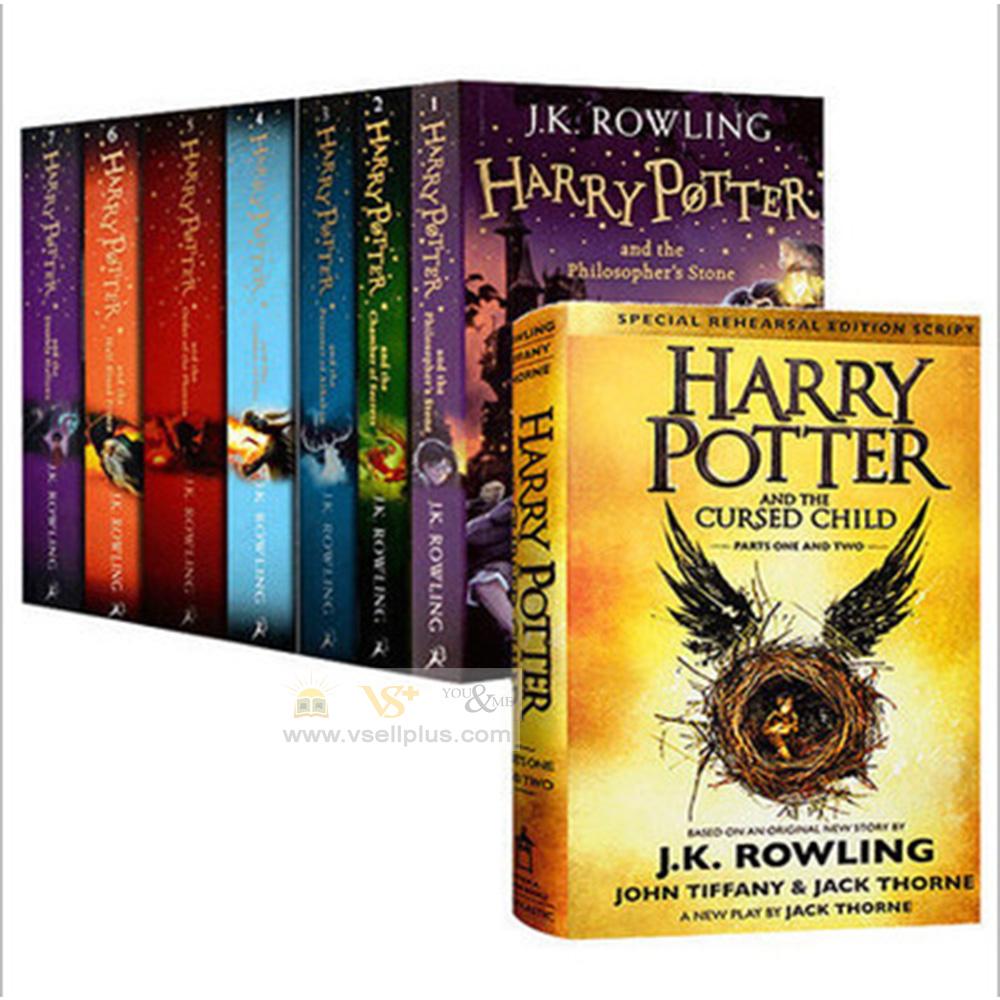 Ready Stock- 8 pieces of Harry Potter Novel