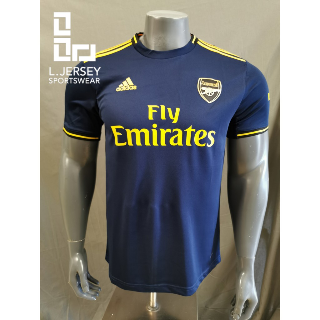 Arsenal Men 3rd Kit Season 19/20 CLIMALITE Fans Jersey