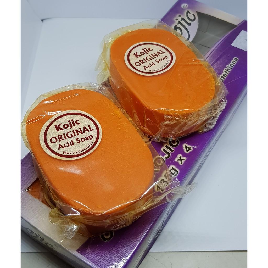 Uni Kojic Acid With Glutathione Whitening Soap 90grams Shopee Malaysia Sabun Perpect