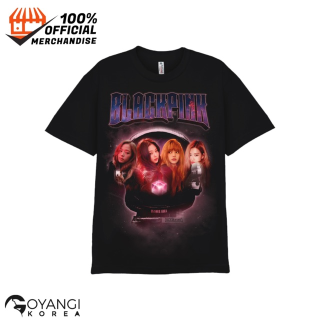 OFFICIAL BLACKPINK KILL THIS LOVE T-SHIRTS_TYPE1 🗓️ Pre Order