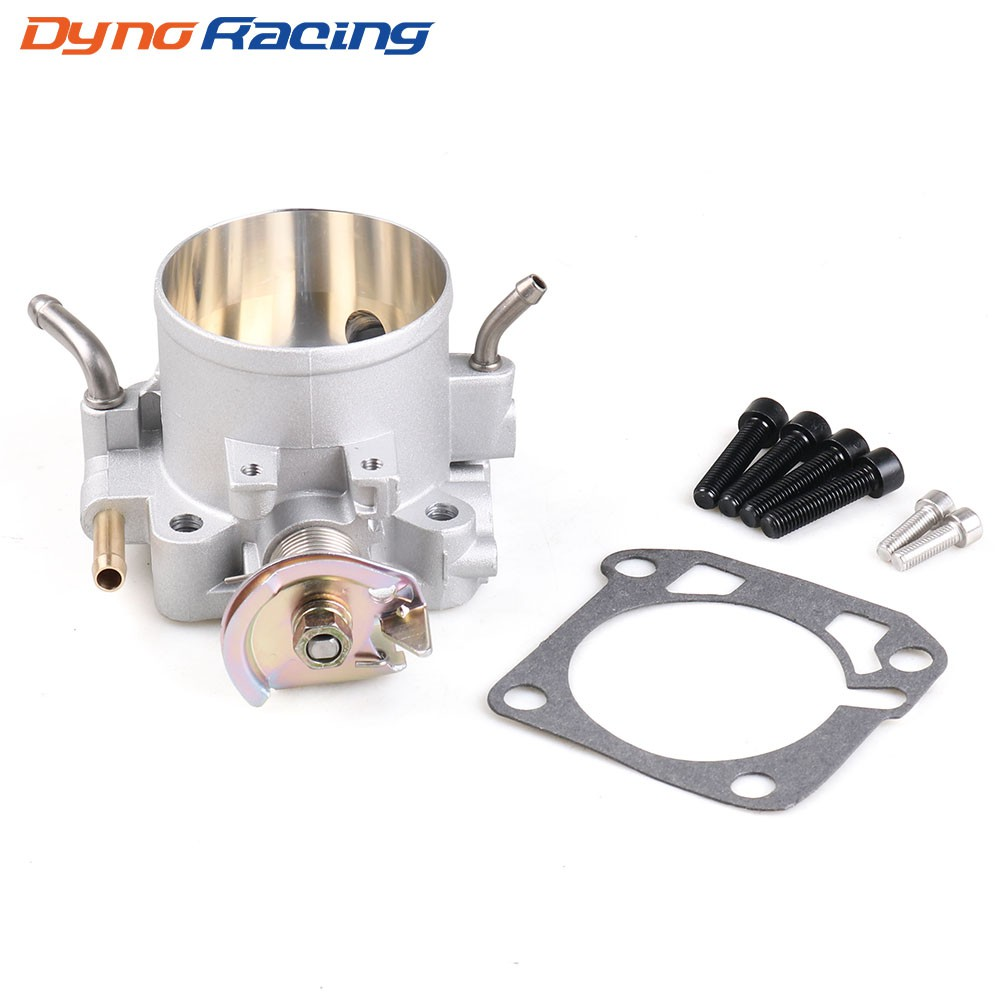 70Mm Blue Manifold Engine Throttle Body Plate W// Bolts For Honda B//D//F//H Series