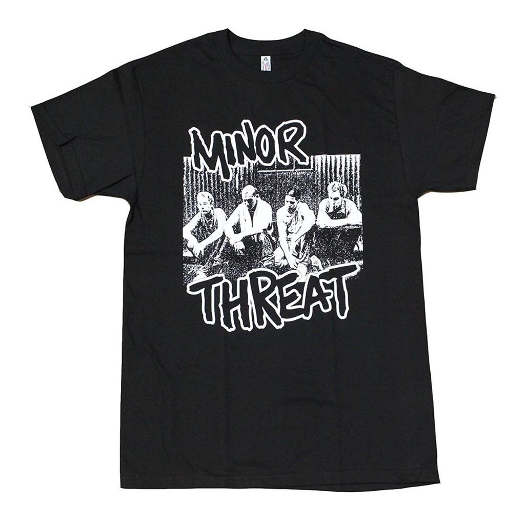 7a40337ec916a3 ProductImage. ProductImage. Fashion tee Miner Threat Punk Rock Band Men'S T- Shirt ...