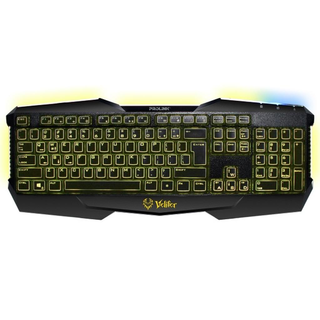PROLiNK Illuminated Multimedia Gaming Keyboard PKGM9101