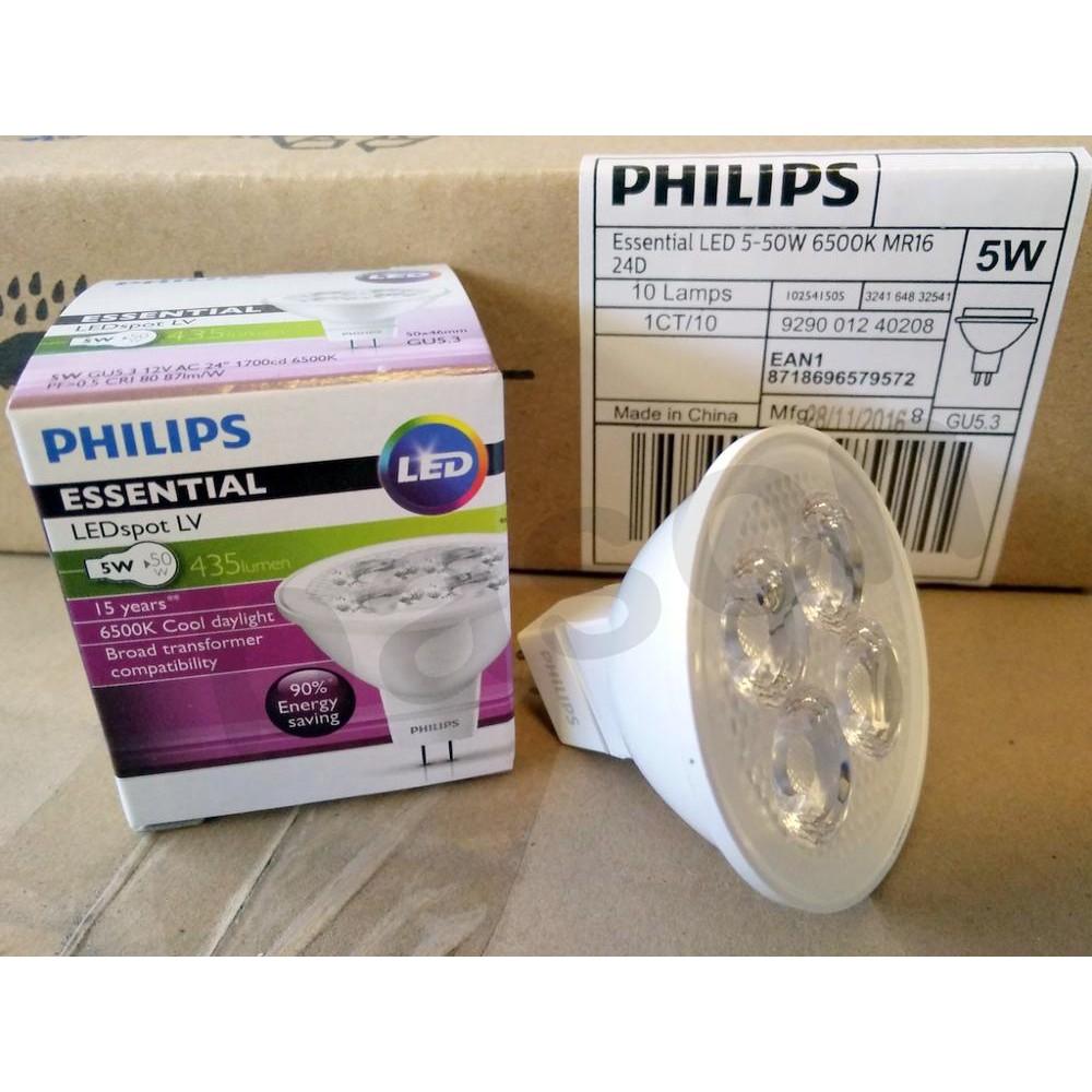 Leuchtmittel Beleuchtung Philips MR16 12V50W GU5.3 36
