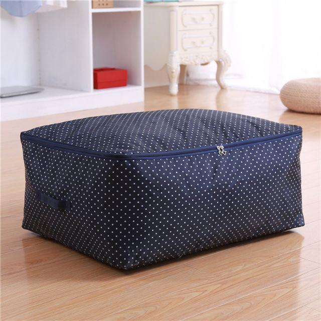 [ READY STOCK ]  Fabric Storage Bag Quilt Folding Cloth Storage Organizer Bedroom Simpanan Jualan Murah Bed Cover Blanket