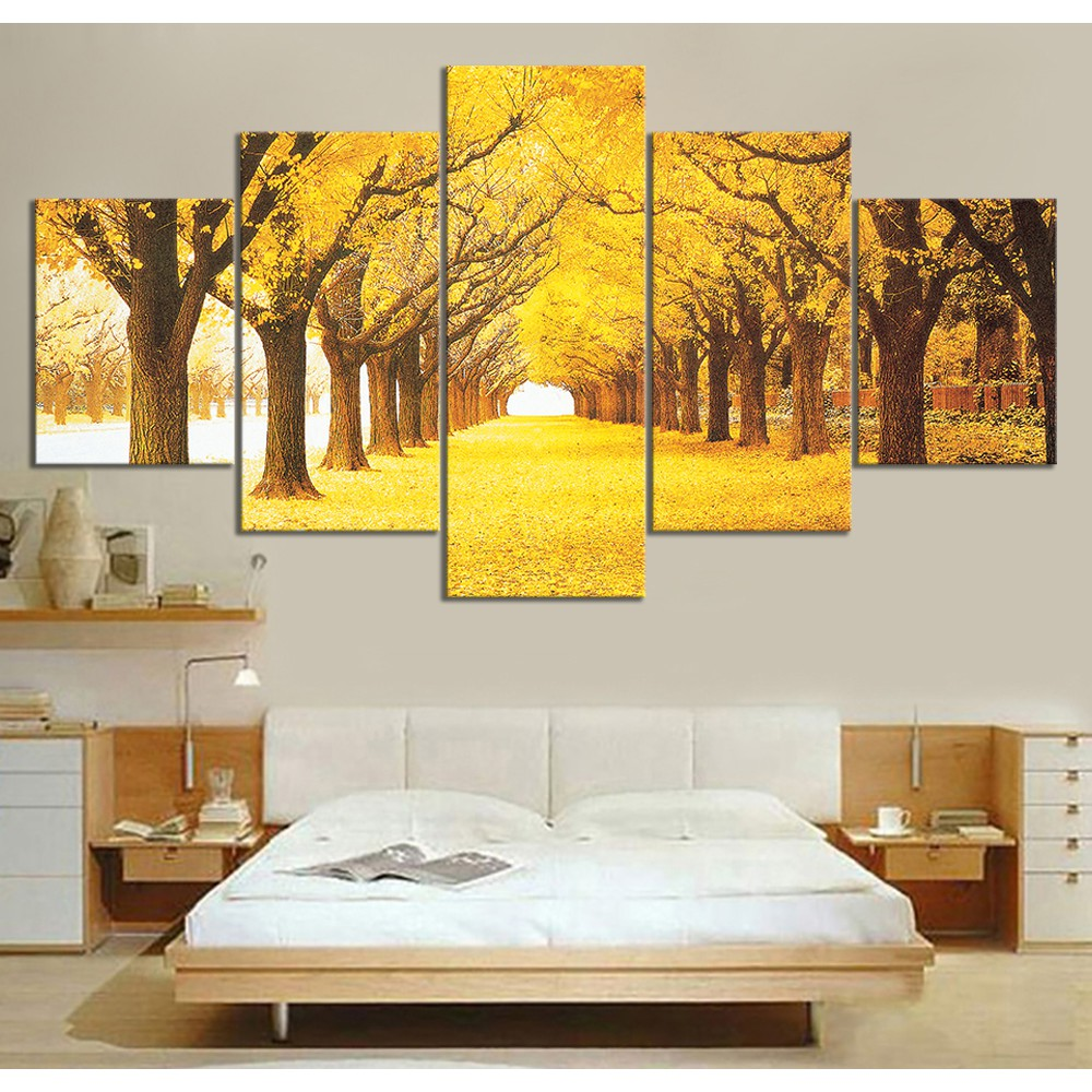 Maple Grove Canvas Wall Art