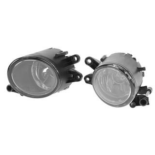 Starnearby 2pcs Front Bumper Fog Lights Lamp Set Headlight for 82-94 BMW E30 3-Series