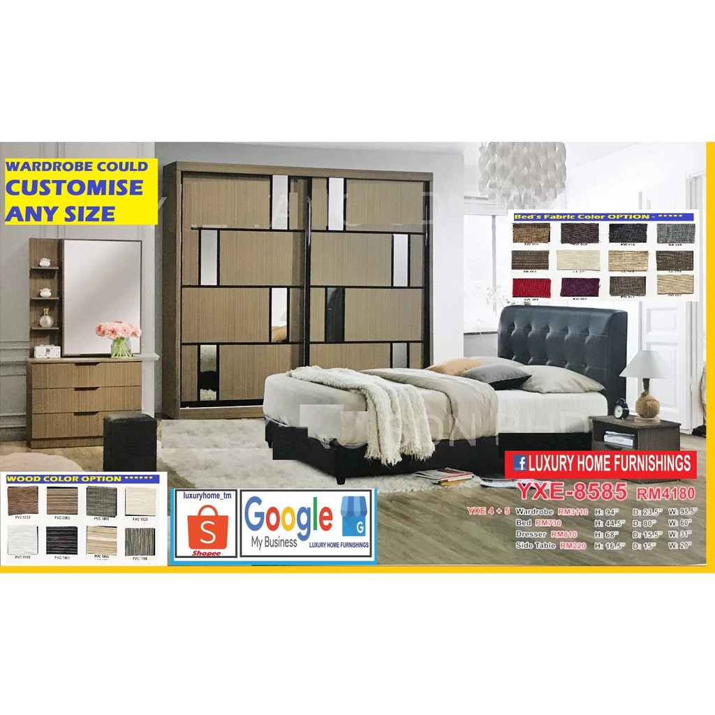 BED ROOM SET, 8'X8' FULL SET, LAUNCHING PROMOTIONS,  BIG SAVING OFFER