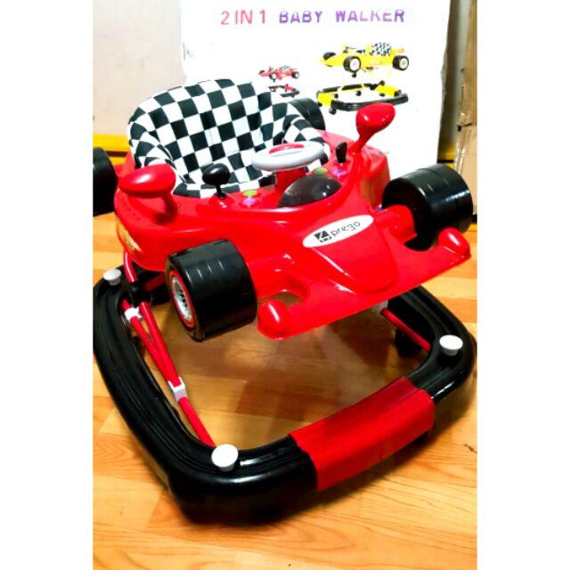 2 In 1 Baby Walker Ferrari Baby Walker