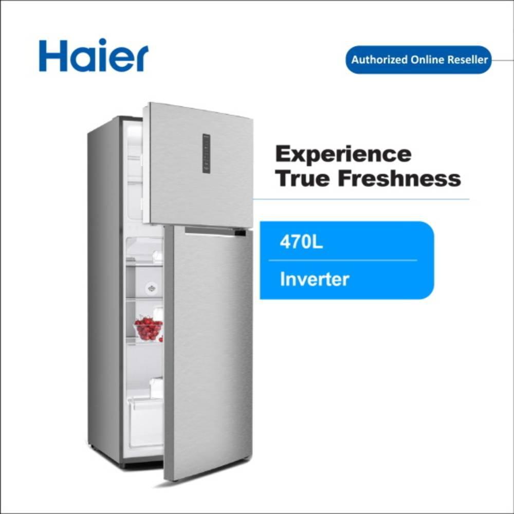 Haier HRF-IV498H 470L 2 Door Refrigerator Fridge with DC Inverter Technology