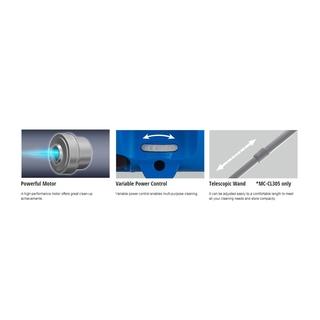 Panasonic Bagless Vacuum Cleaner Cocolo Mc Cl305 Shopee