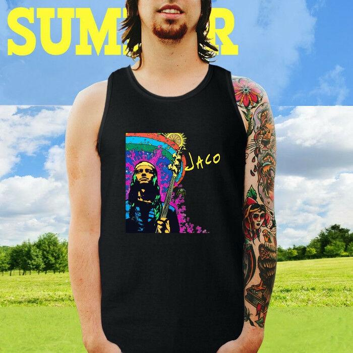 New Jaco Pastorius Jazz Musician Singer Black Long Sleeve T-Shirt Size S-3XL