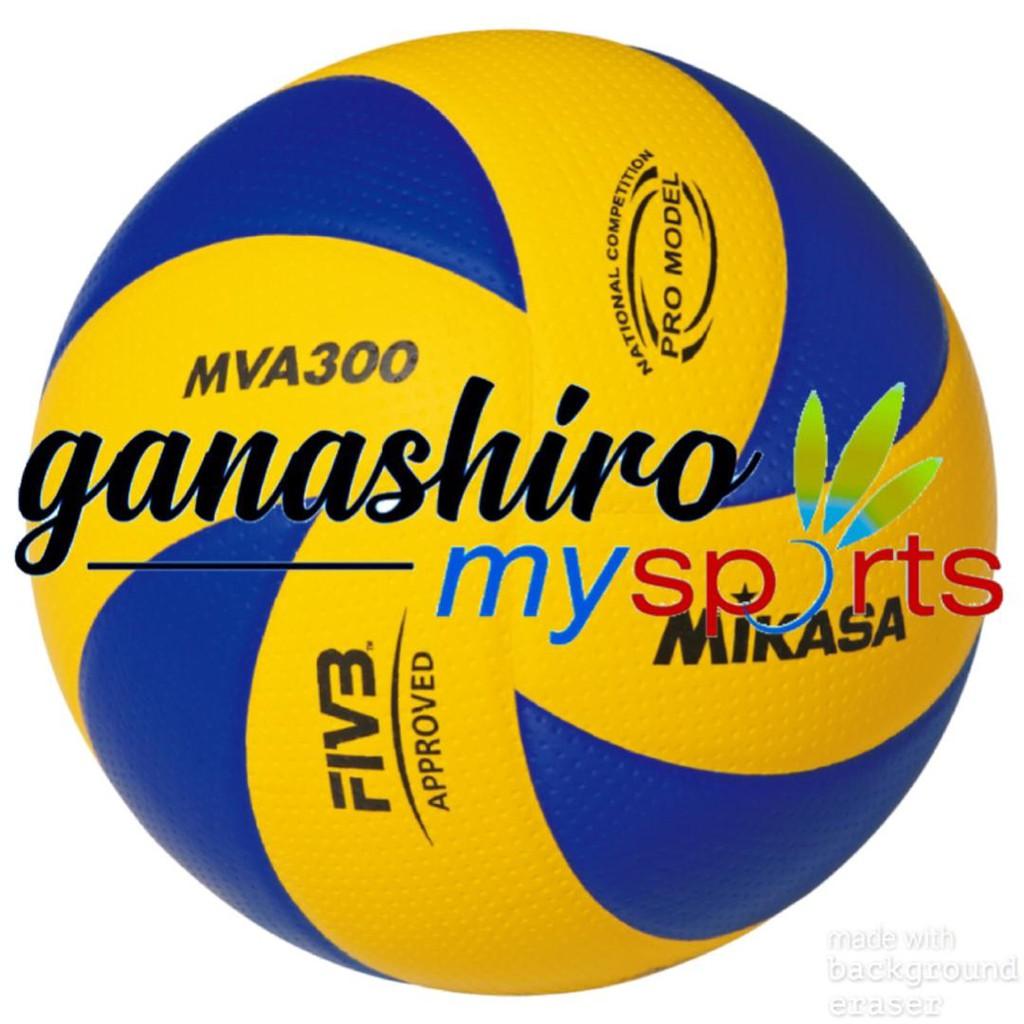 MIKASA VOLLEYBALL MVA300 310 330 (Size 5) 100% Original Molten Netball