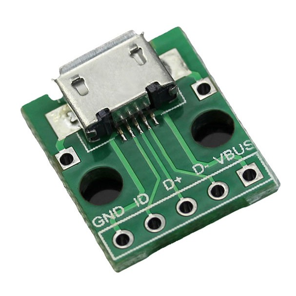 2pcs Type A Female USB To DIP PCB Board Adapter Converter Arduino connector UK