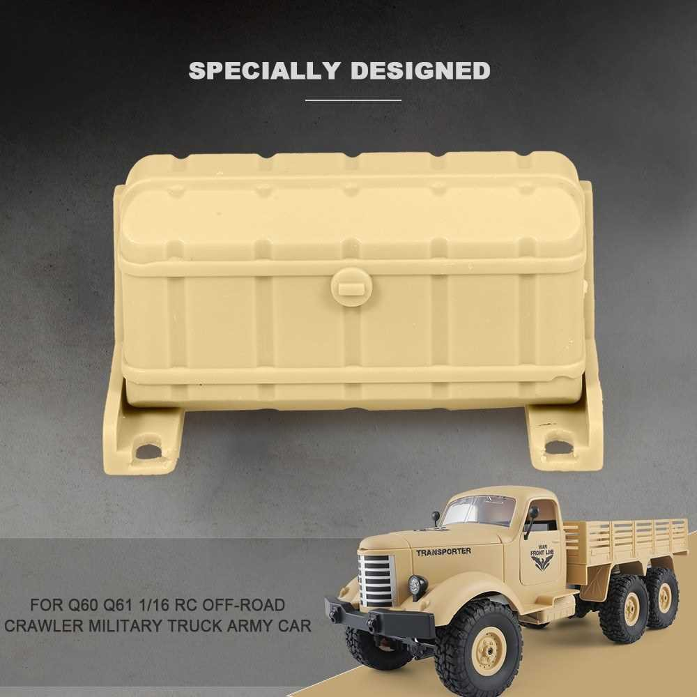 JJR/C Oil Tank Decorate Box for Q60 Q61 1/16 2.4G RC Off-road Crawler Military Truck Army Car (Y2)