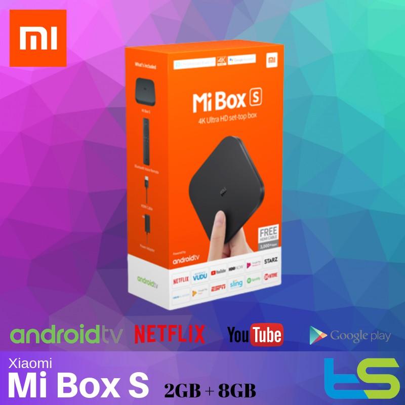 [Original] Xiaomi Mibox S Mi Android TV Box [Global version - Netflix,  Youtube]
