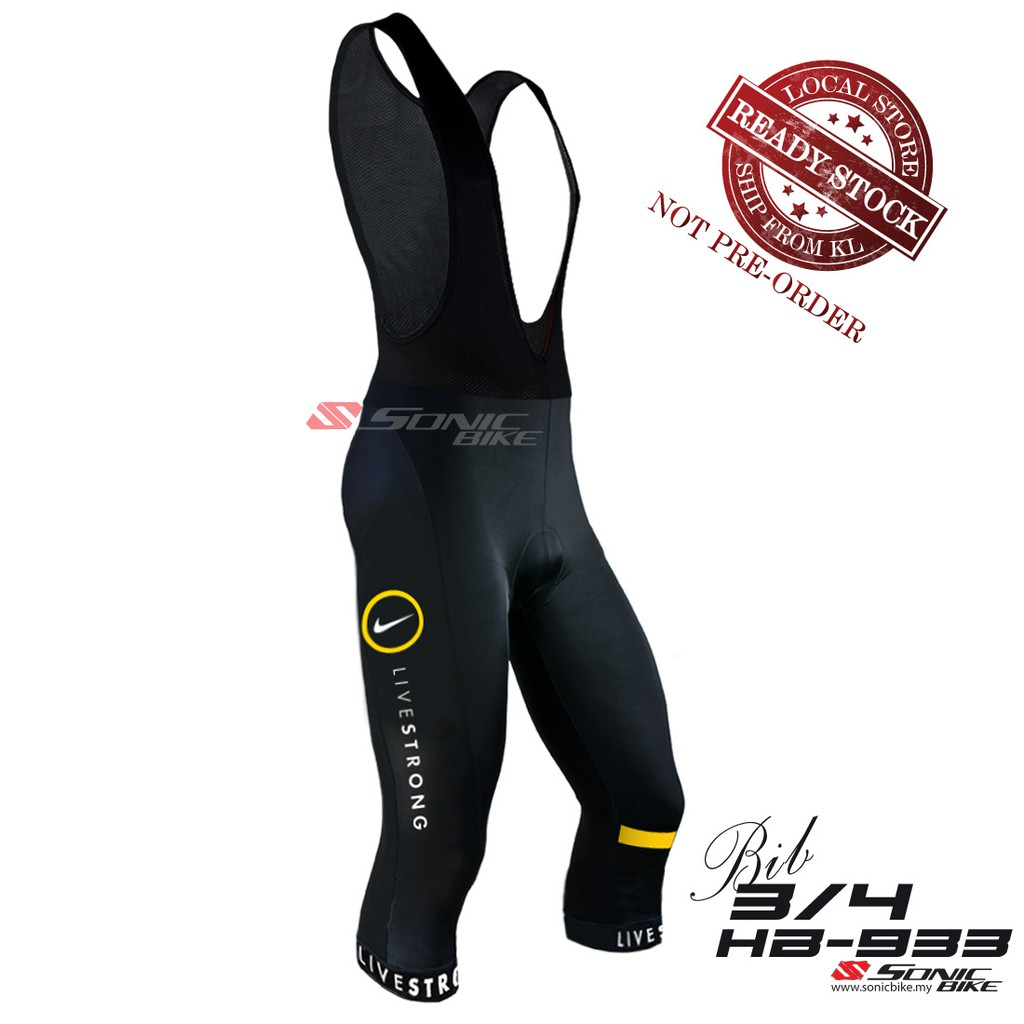CYCLING 3 4 PANT LIVESTRONG (READY STOCK)  eb564b23d