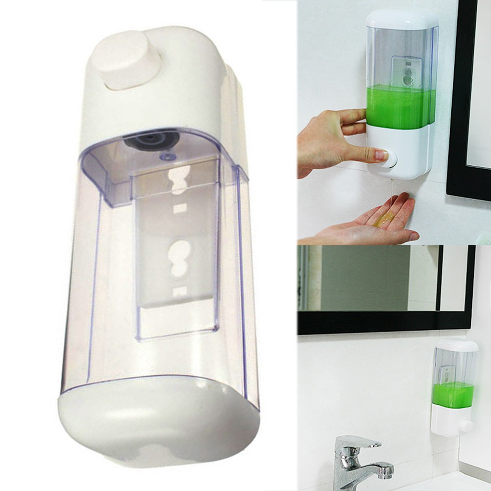 Wall Mounted Soap Shampoo Dispenser Shower Pump for Bathroom Hotel 500//1000ml